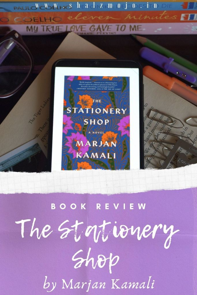 The stationery shop- Marjan Kamali- Book Review - Books- reading- TBR- TBRCHALLENEGE2020 - Bibliophiles- bookstack