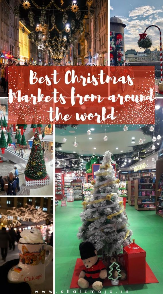Xmas markets from around the world - holiday- December- FTB collab