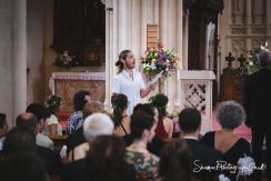 wedding photography St. Edward the Confessor Church in London interfaith Chatholic / Jewish wedding at Hunton Park in Watford Hertfordshire.