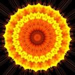 Sun Like Kaleidoscope