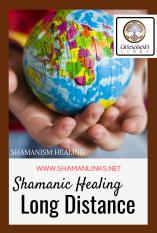 Long Distance Shamanic Healing Globe in Tiny Hands