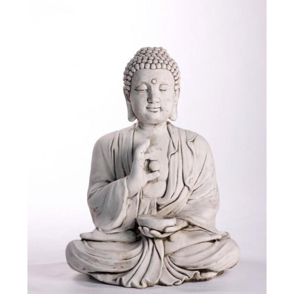 bouddha hindou statue pierre grande zen thailandais hindou shamballa. Black Bedroom Furniture Sets. Home Design Ideas