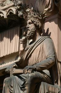 Roi Salomon 6586 Portail Horloge