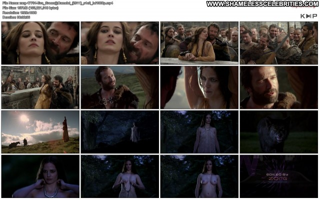Eva Green Tamsin Egerton Camelot Nipple Slip Wet Topless Hot