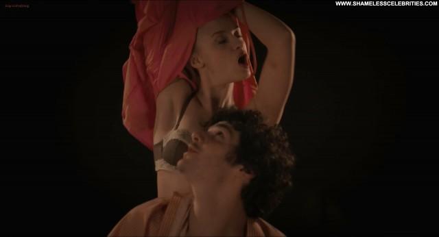 Sara Forestier Tele Gaucho Panties Topless Bra Posing Hot