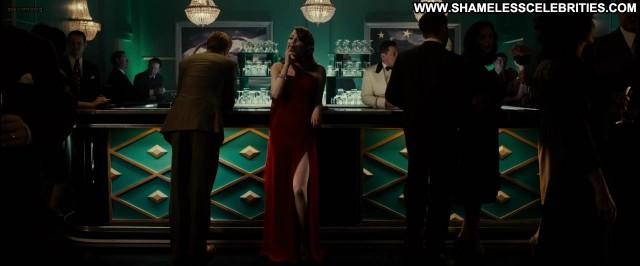 Emma Stone Gangster Squad Fetish Posing Hot Smoking Sexy Celebrity