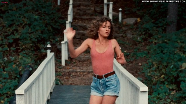 Jennifer Grey Dirty Dancing Posing Hot Nude Sexy Dancing Celebrity