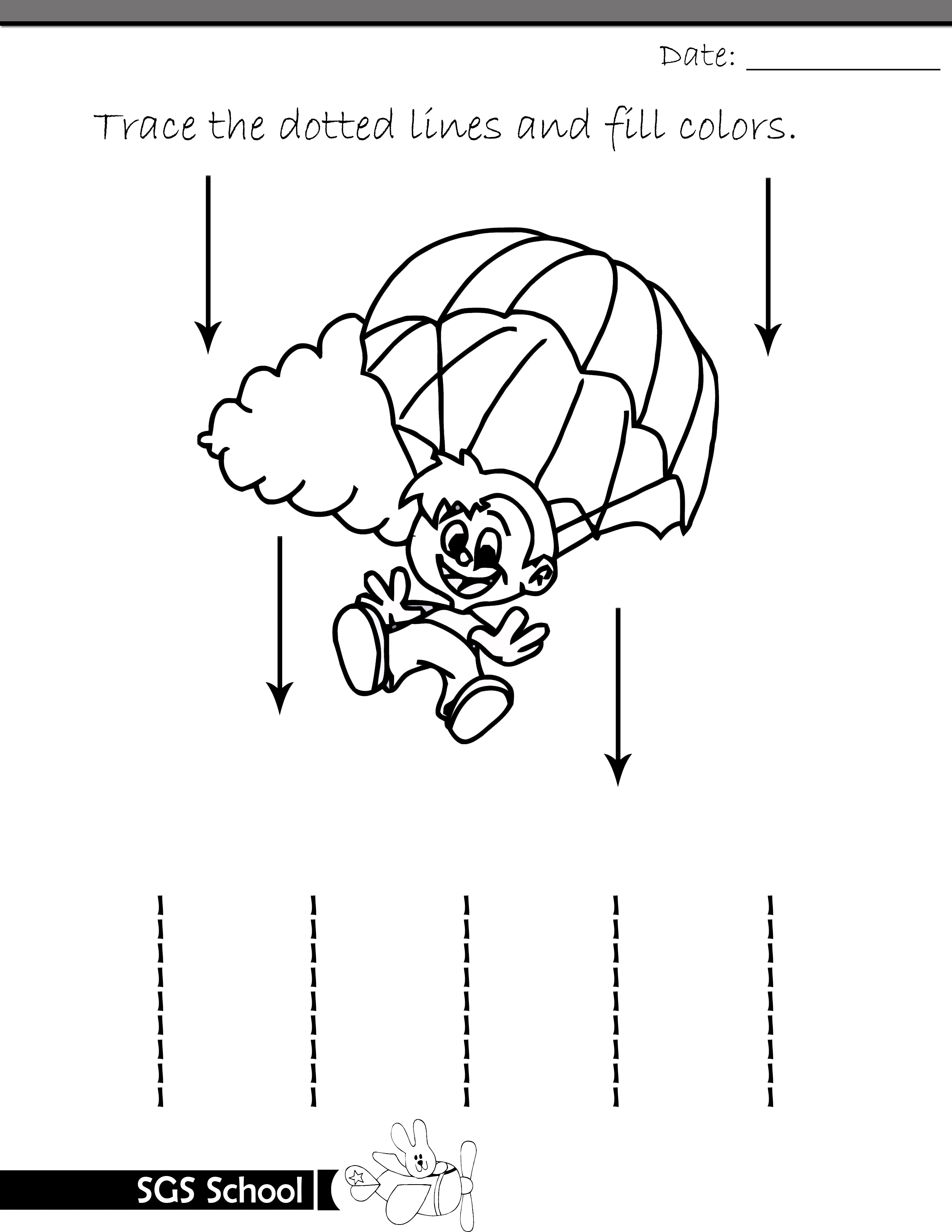 Free Printable Tracing and Drawing Worksheets Playgroup