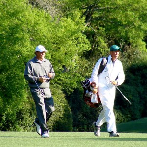 phil mickelson on course
