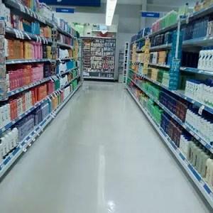 shampoo at the store