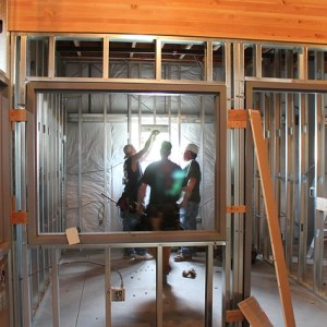 new construction plumbing installation