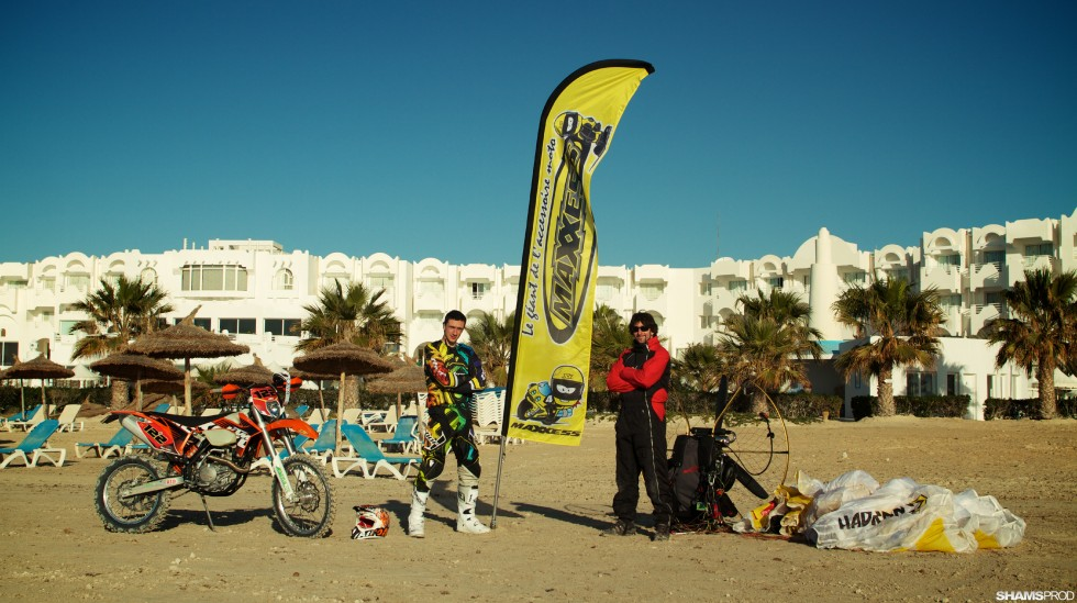 Expé Tunisie – Paramoteur et Moto Enduro