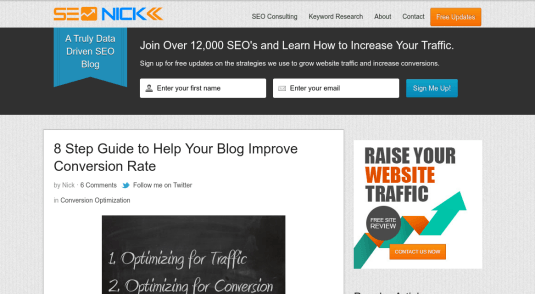 seo nick blog