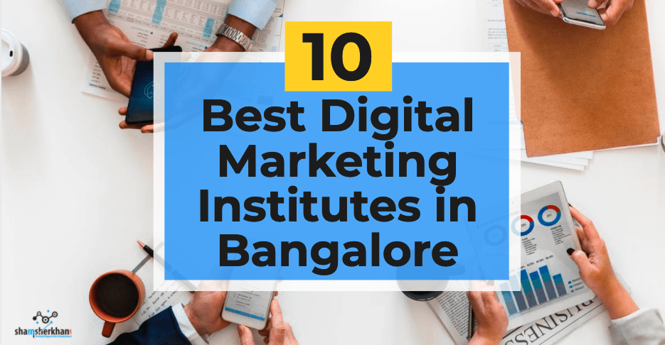 best digital marketing institutes in bengalore