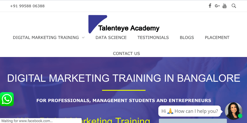 talent eye institute bengalore