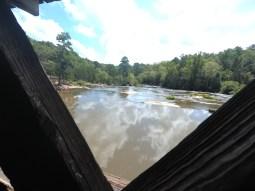 Inside Watson Mill Bridge