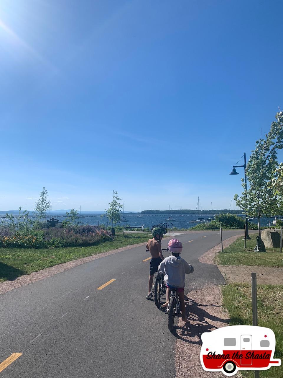 Bikers-on-Burlington-Bike-Path