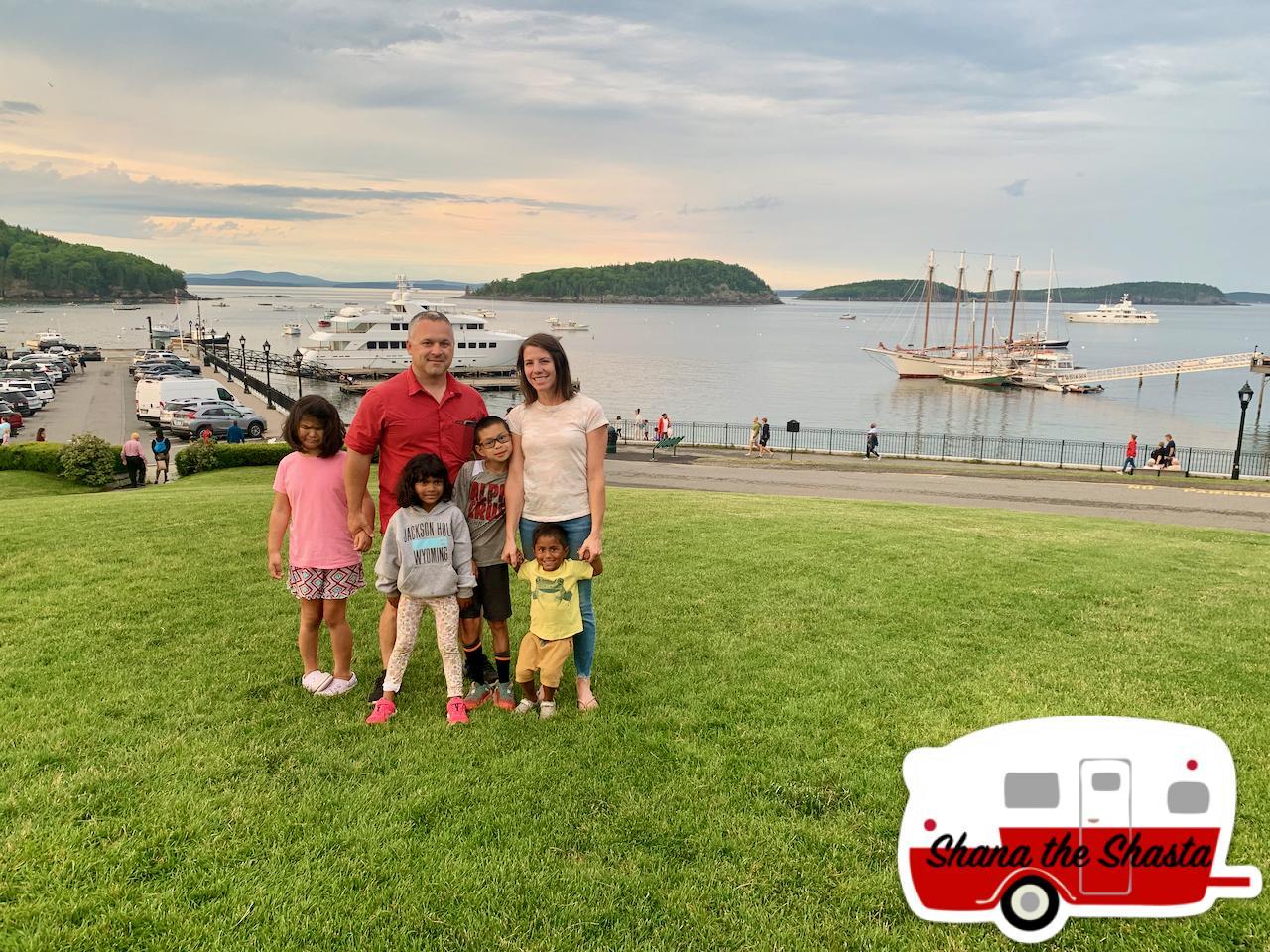 Family-at-Bar-Harbor
