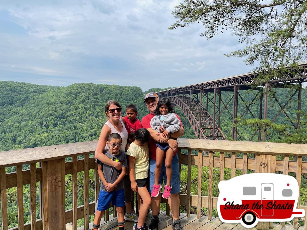 Family-at-New-River-Gorge-Bridge