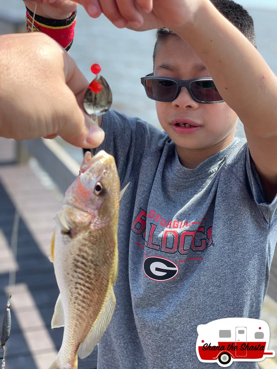 First-Croaker-Fish-Caught