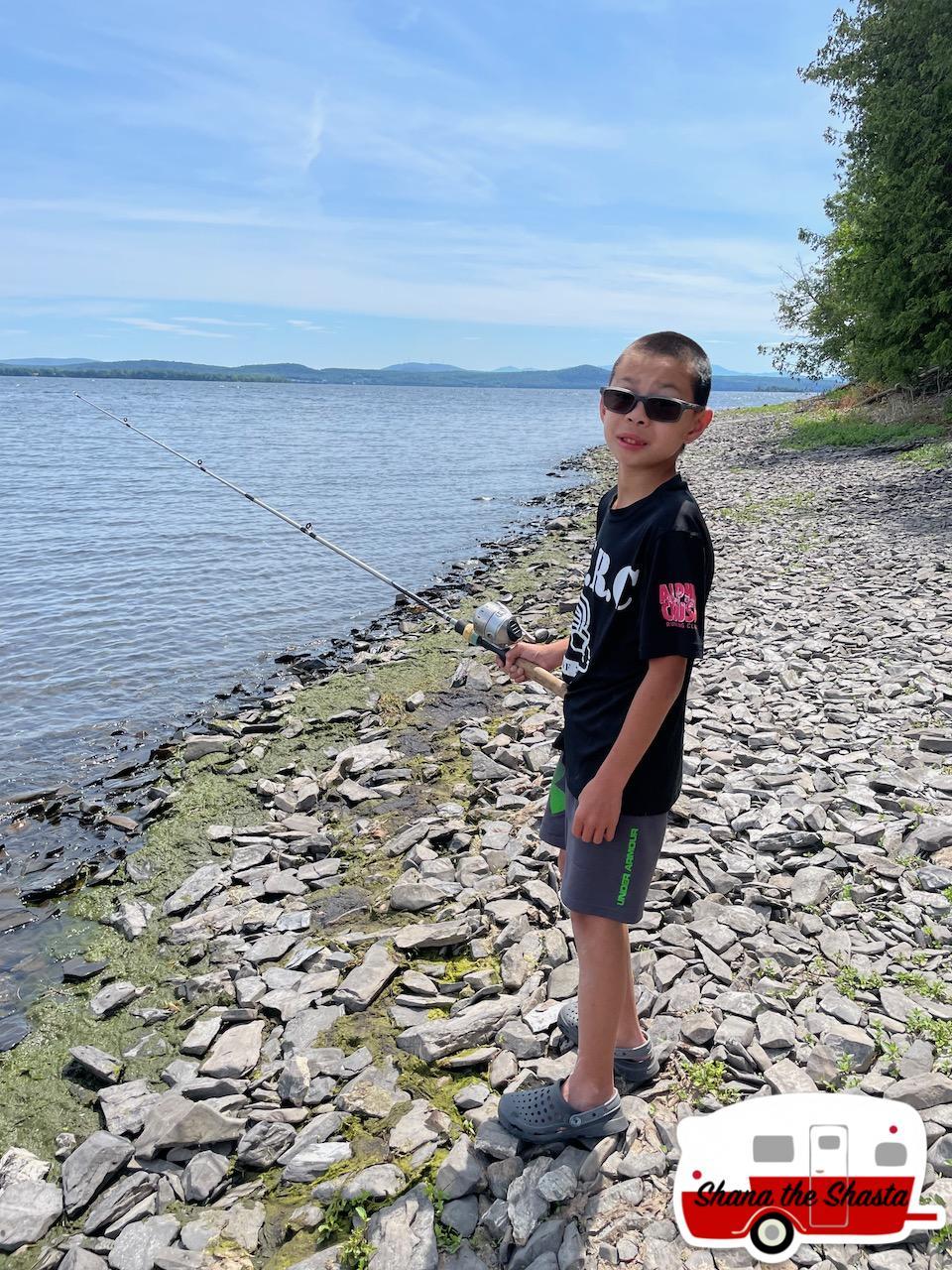 Fishing-Lake-Champlain-Shore