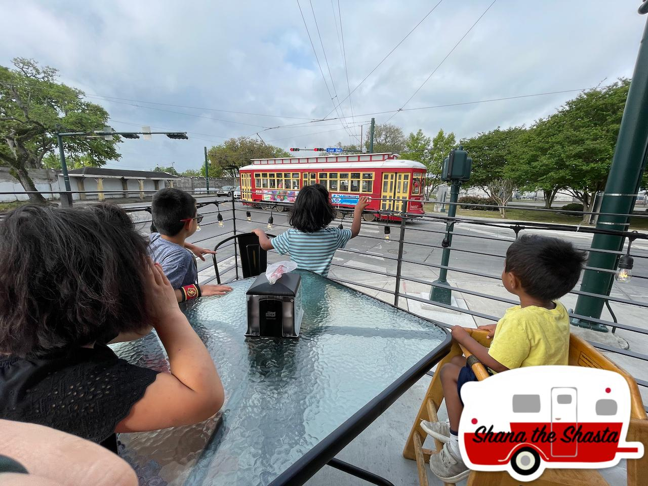 Trolley-view-from-Morning-Call-in-New-Orleans