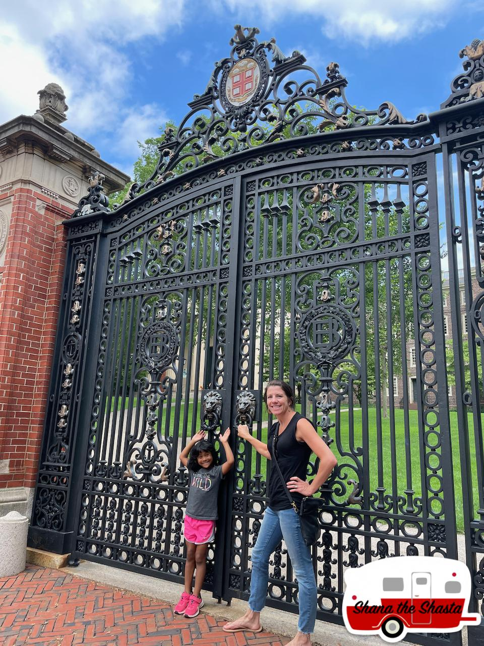 Two-Cuties-at-Gate-to-Brown-University