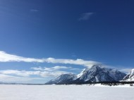 Mount Moran from Jackson Lake