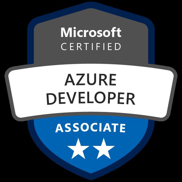 Azure Developer Associate Badge