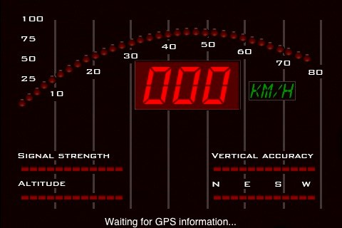 iKitt App - Speedometer