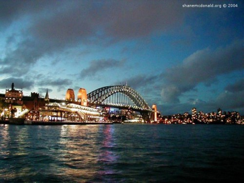 Sydney Harbour Bridge : Sydney Australia