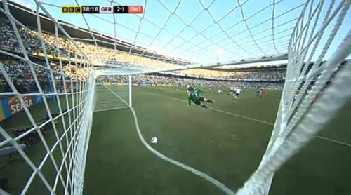 England Goal – Ball did not dross the line