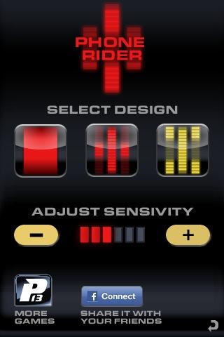 Phone Rider Second Version - Original version and Yellow Version