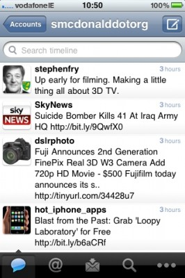 Twitter iPhone Apps