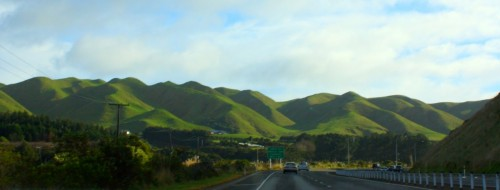 Driving in New Zealand - Amazing Scenery on the N1 New Zealand Roads