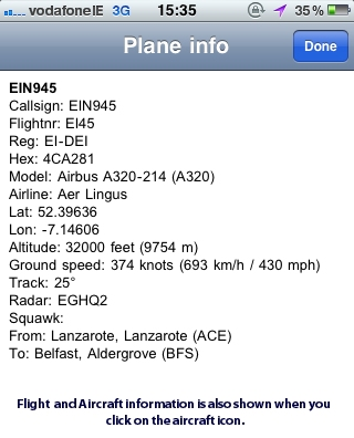 Flight Radar Screenshot - FlightRadar24 iPhone App Review