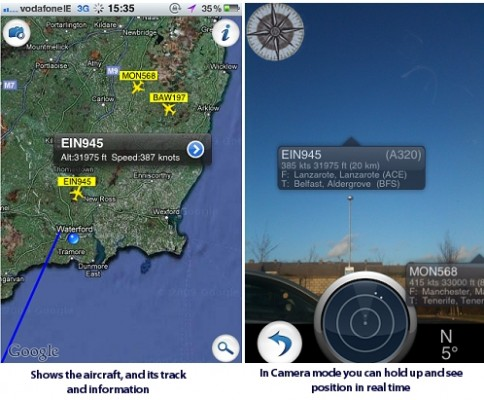 Flight Radar Screenshote - FlightRadar1 iPhone App Review