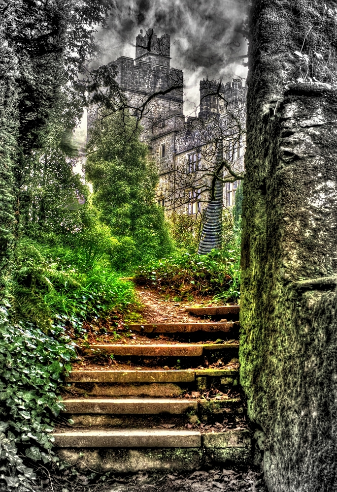 Steps to the Castle – Lismore Castle, Photo of the Week
