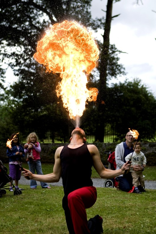 Fire Blower 1 - Photo of the Week