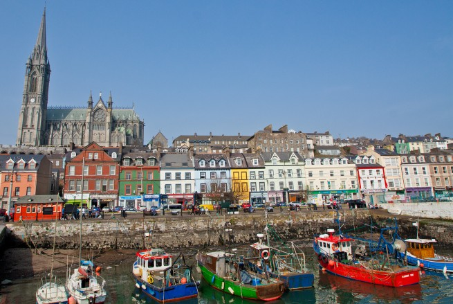 Cobh, Co. Cork, Ireland - Last place the Titanic stopped on its maiden voyage -- Place the Titanic Stopped in Ireland, Titanic Stopped, Did the Titanic Stop in Cork, Titanic Stop, Titanic Stopped Cobh, Did the Titanic Stop in Cork Ireland, Cobh Co Cork