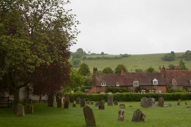 Graveyard - Vicar of Dibley location