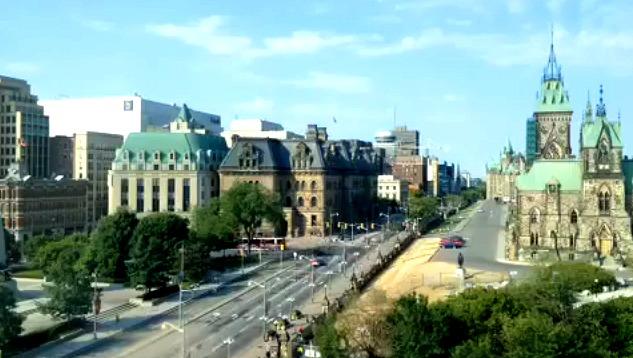 Timelapse of Ottawa, Canada