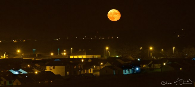 Moon Rise over Tramore, Co. Waterford