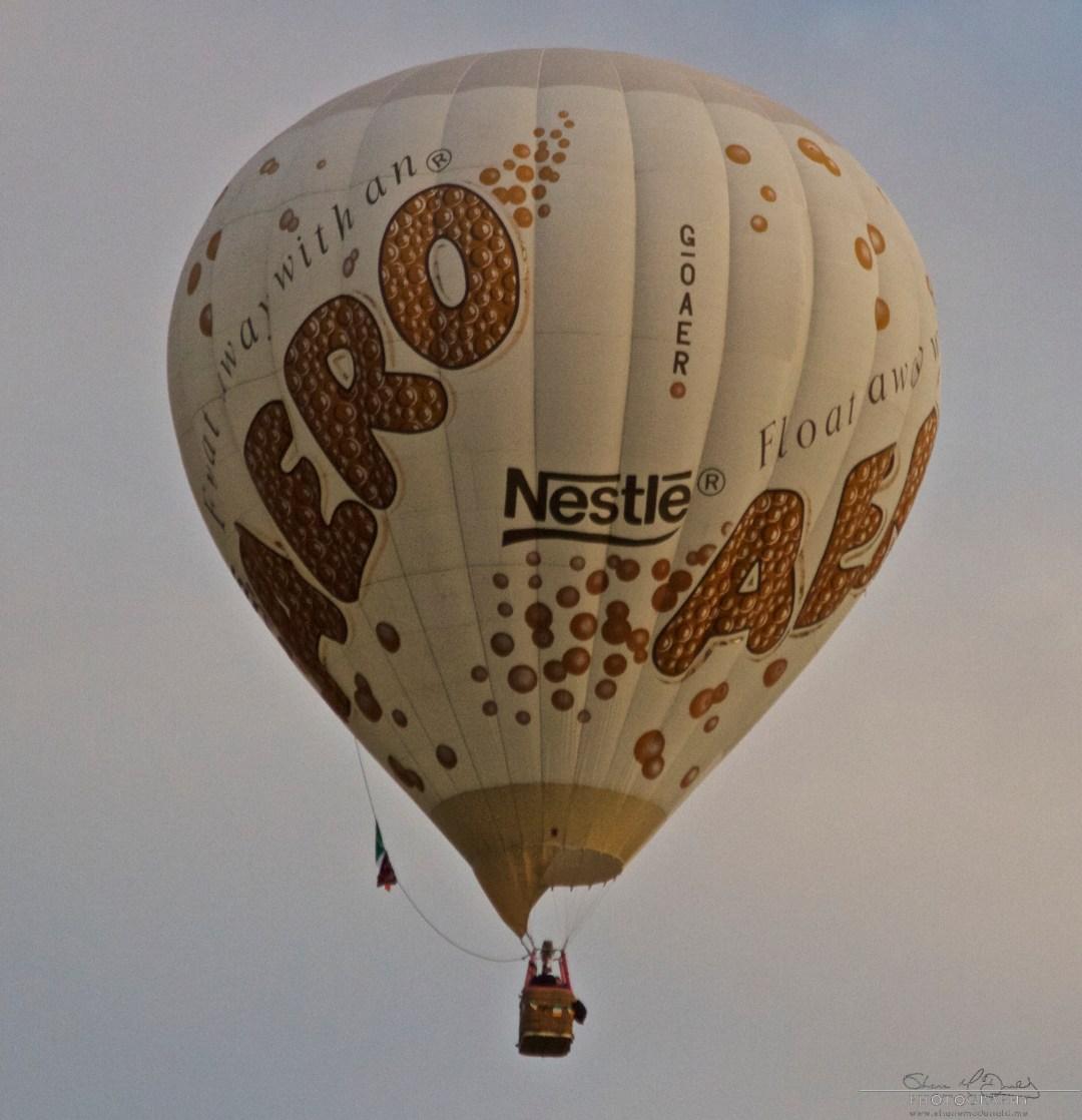 Irish Balloon Championships Aero Chocolate