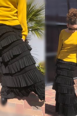 Pleated Eleganza Skirt