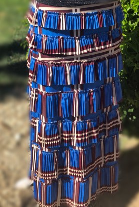 Pleated elegance skirt - plaids