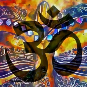 art infused with the energy of om
