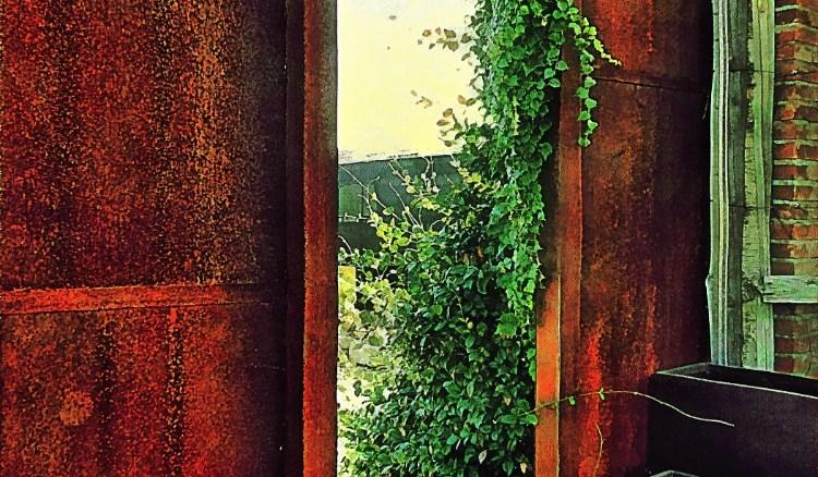 What is it about half open doors