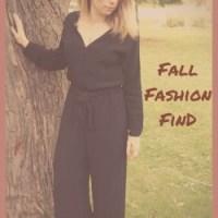 Fall Fashion Find