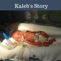 Little celebrations, Kaleb's story